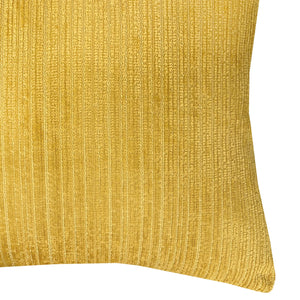 Amora Pillow | Size 23x23 | Color Mustard