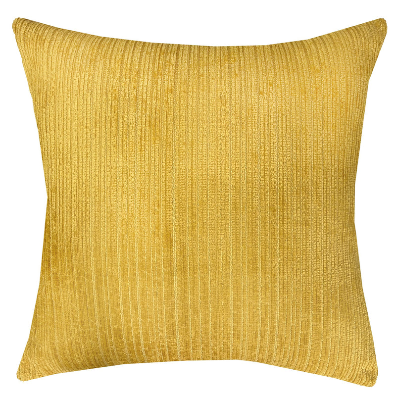 Amora Pillow | Size 23x23 | Color Mustard - Rodeo Home