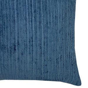 Amora Pillow | Size 23x23 | Color Navy