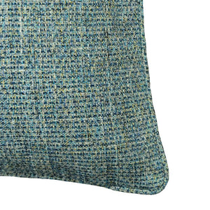Anabelle Pillow | Size 18X22 | Color Cerulean - Rodeo Home
