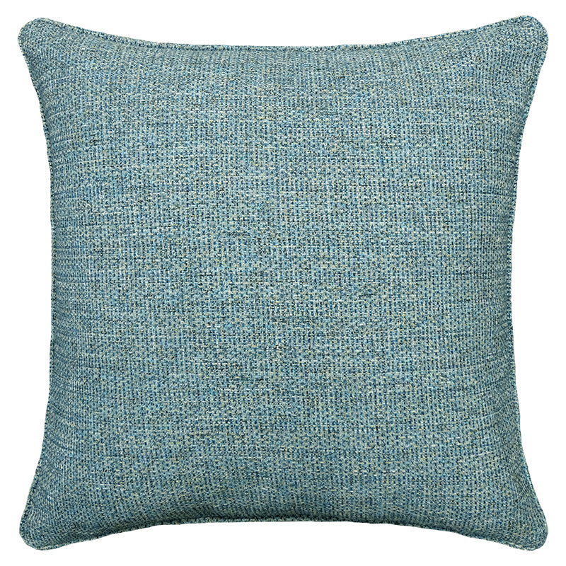 Anabelle Pillow | Size 23X23 | Color Cerulean