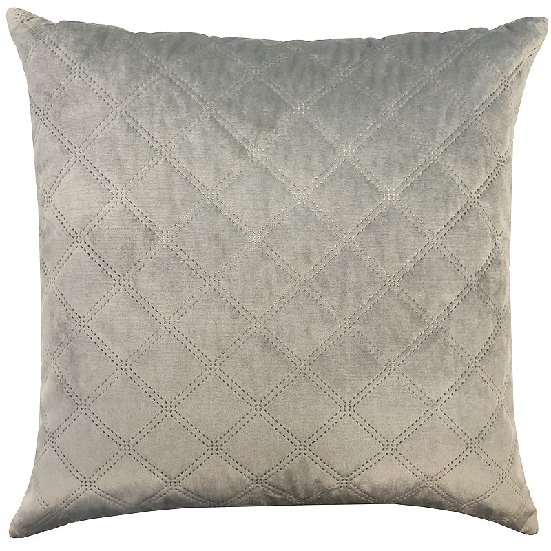 Asher Pillows | Size 20X20 | Color Silver