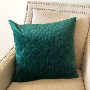 Asher 2 Pack Pillows | Size 20x20 | Color Emerald