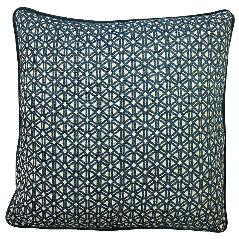 Athena Pillow | Size 20X20 | Color Denim