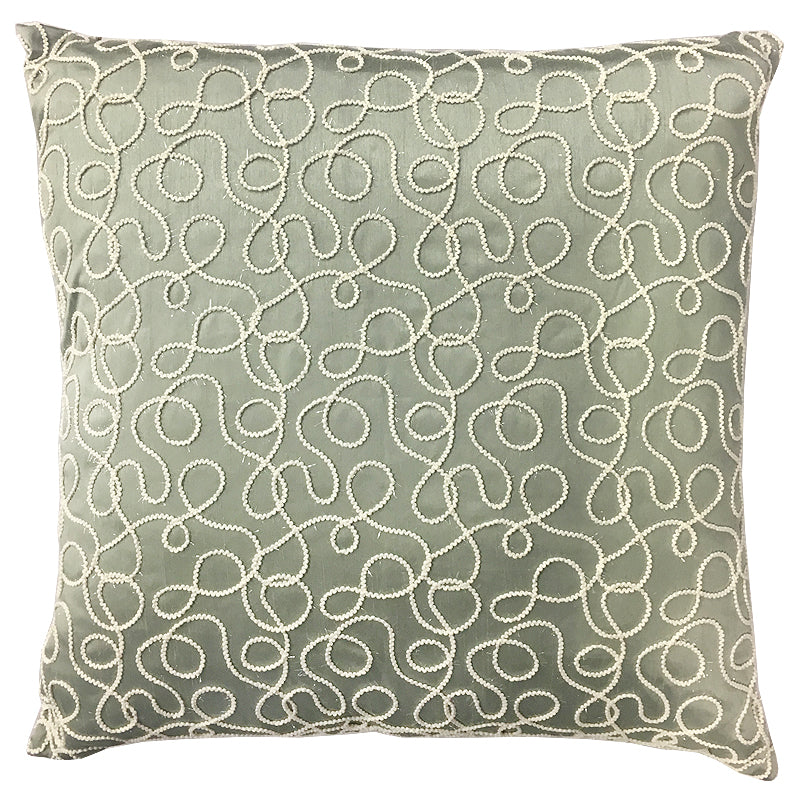 Avalon Pillow | Size 20X20 | Color Seaspray
