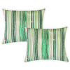 Avon Pillow | Size 18X22 |  2-Pack | Color Green