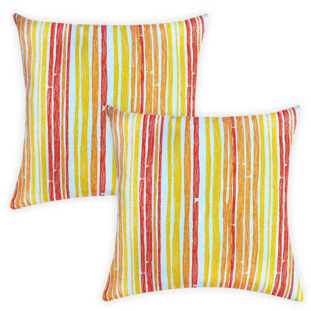 Avon Pillow | Size 20X20 | 2-Pack | Color Marmalade