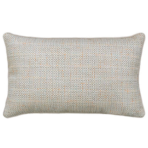 Bedford Pillow | Size 16X26 | Color Silver