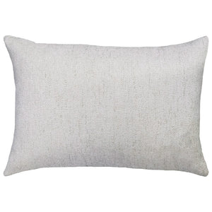 Love Embroidery on Cashio Pillow | Size 14X20 | Color Pearl