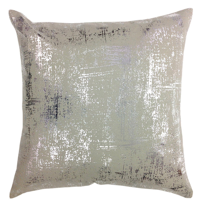 Blaze Pillows | Size 20X20 | Color Gray/Silver