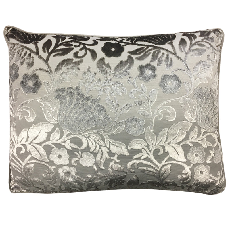 Bright Pillow | Size 20X26 | Color Silver