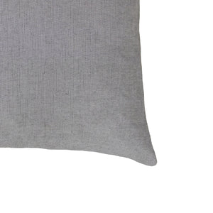 Bruce Pillow | Size 20X20 | Color Pewter