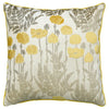 Camelia Pillows | Size 23X23 | Color Mustard