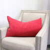 Cashio Pillow | Size 16X28 | Color Cherry
