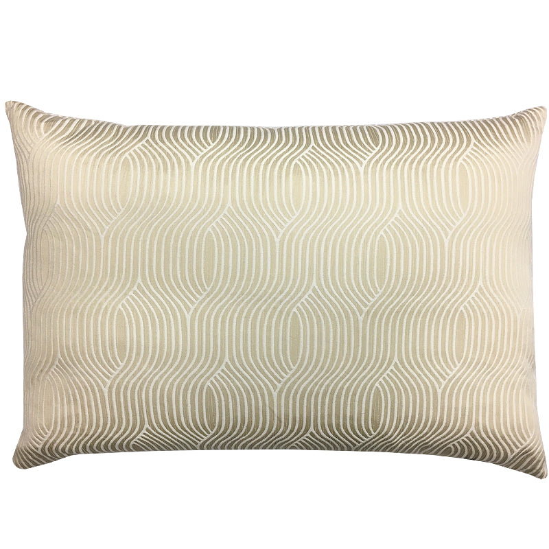 Celeste Pillow | Size 18X26 | Color Beige