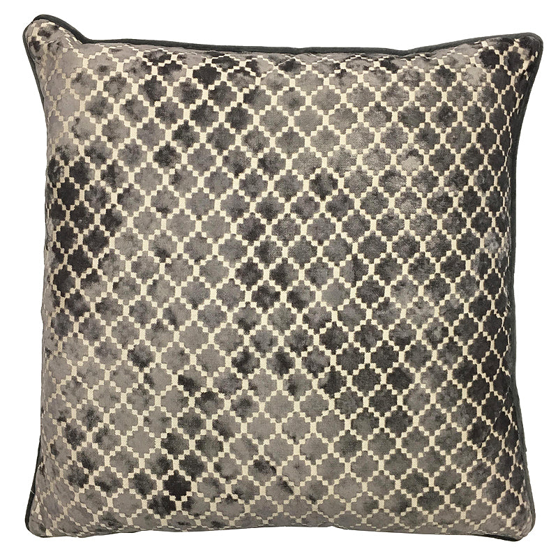 Central Pillow | Size 20X20 | Color Gray