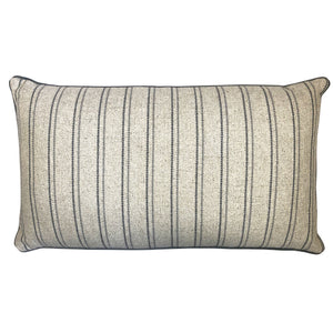 Charisse Pillow | Size 16X28 | Color Gray