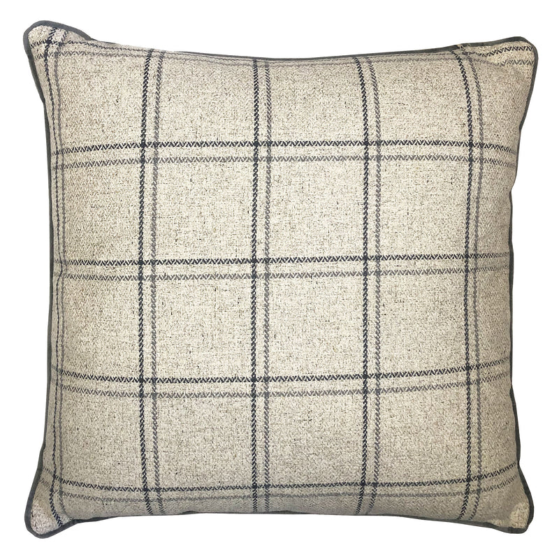 Charisse Pillow | Size 23X23 | Color Gray