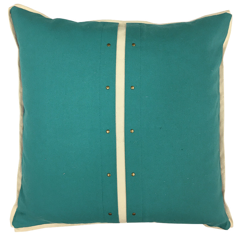 Chloe Pillow | Size 20X20 | Color Spa/Natural
