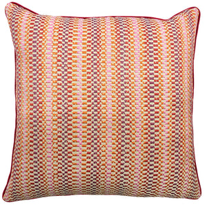 Circus Pillow | Size 24X24 | Color Coral