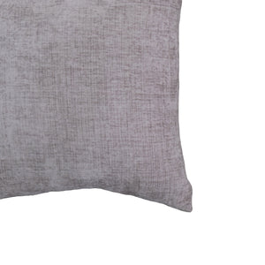 Clarise Pillow | Size 20X20 | Color Pewter