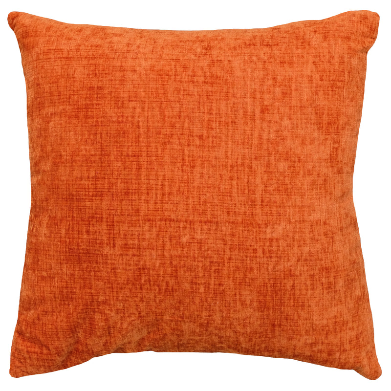 Clarise Pillow | Size 20X20 | Color Orange