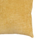 Clarise Pillow | Size 20X20 | Color Mustard