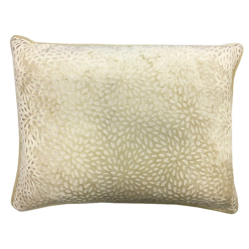 Codes Pillow | Size 18x24 | Color Ivory