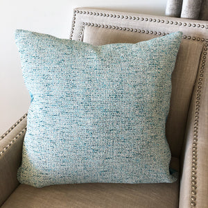 Cody Pillow | Size 24X24 | Color Turquoise