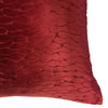 Costella Pillows | Size 23X23 | Color Wine