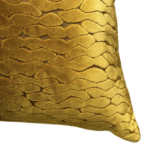 Costella Pillows | Size 23X23 | Color Gold
