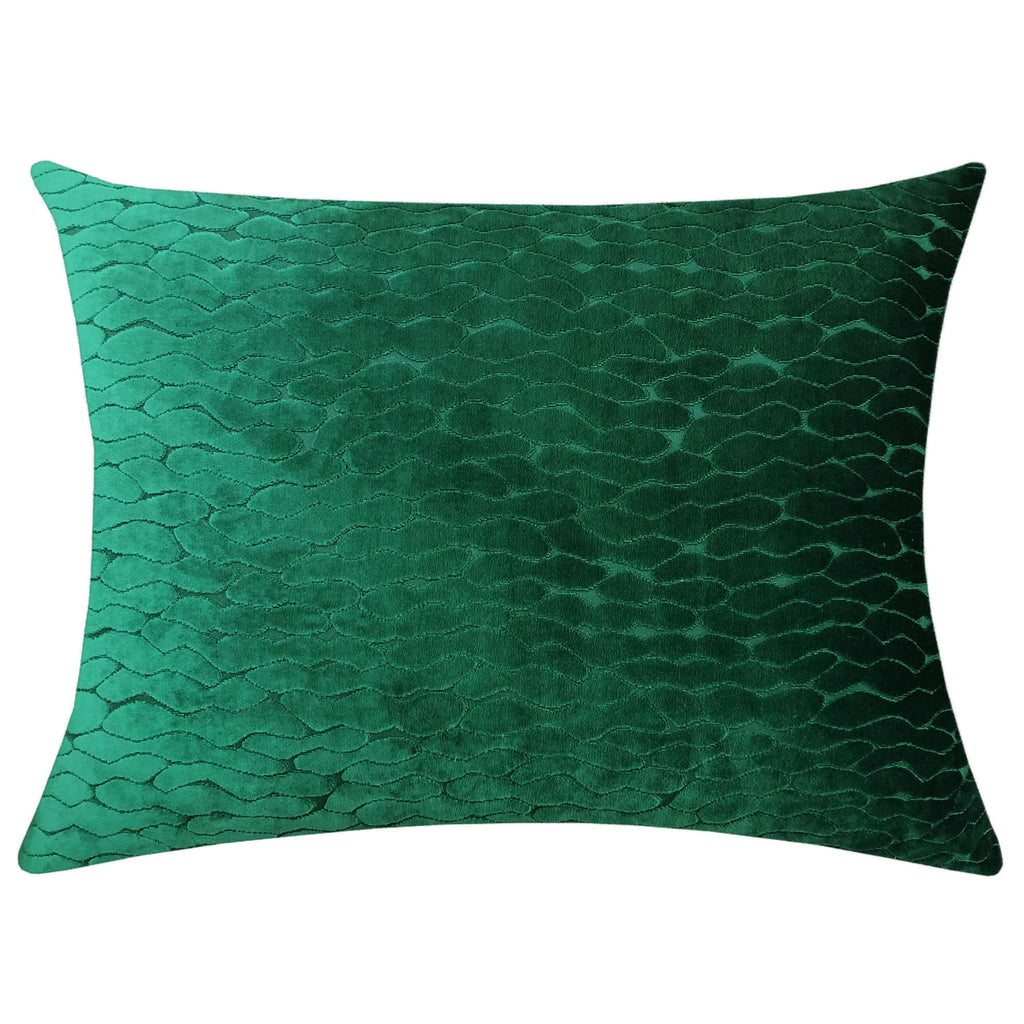 Costella Pillows | Size 18X24 | Color Emerald