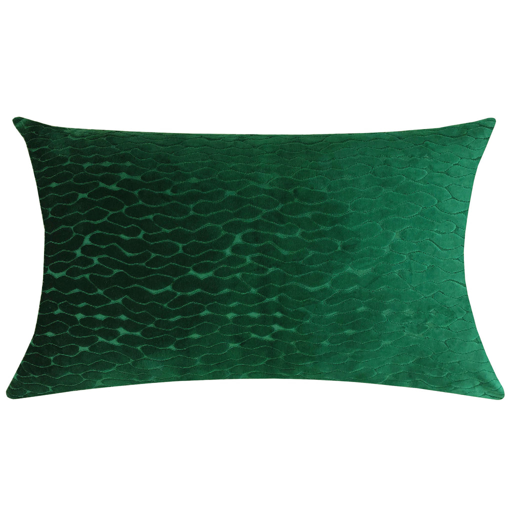 Costella Pillows | Size 18X30 | Color Emerald