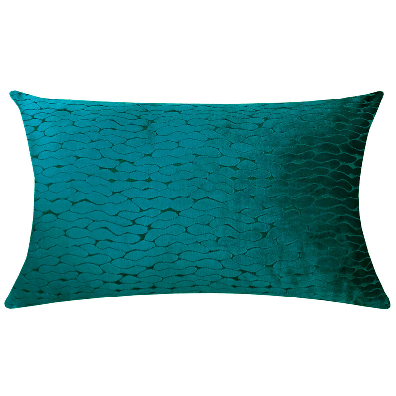 Costella Pillows | Size 18X30 | Color Cerulean