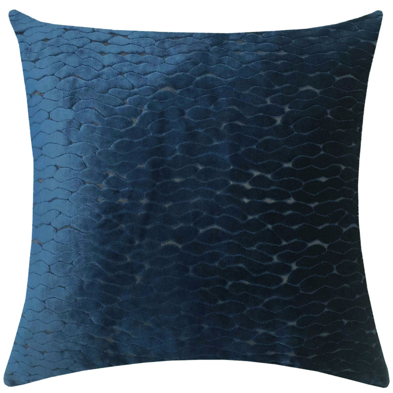 Costella Pillows | Size 23X23 | Color Navy