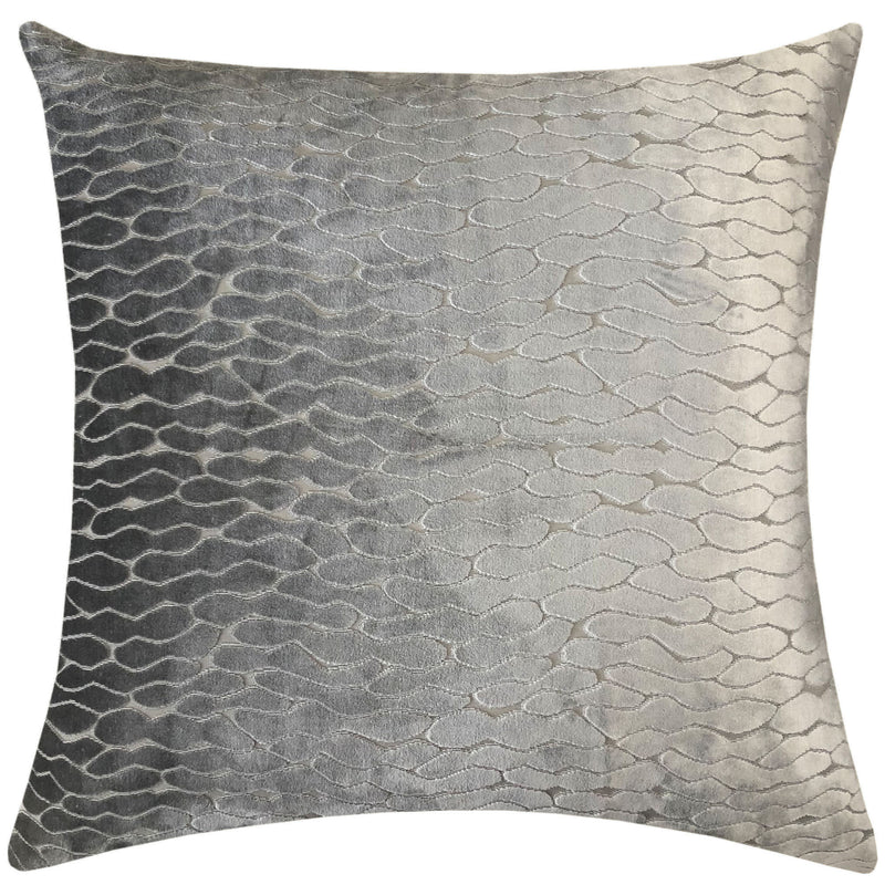 Costella Pillows | Size 23X23 | Color Silver