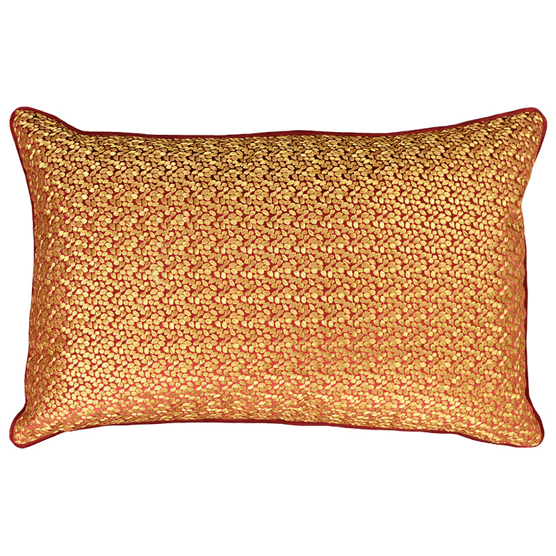 Cruze Pillows | Size 16X26 | Color Red