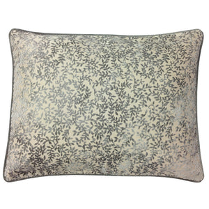 Daisy Pillow | Size 20X26 | Color Silver