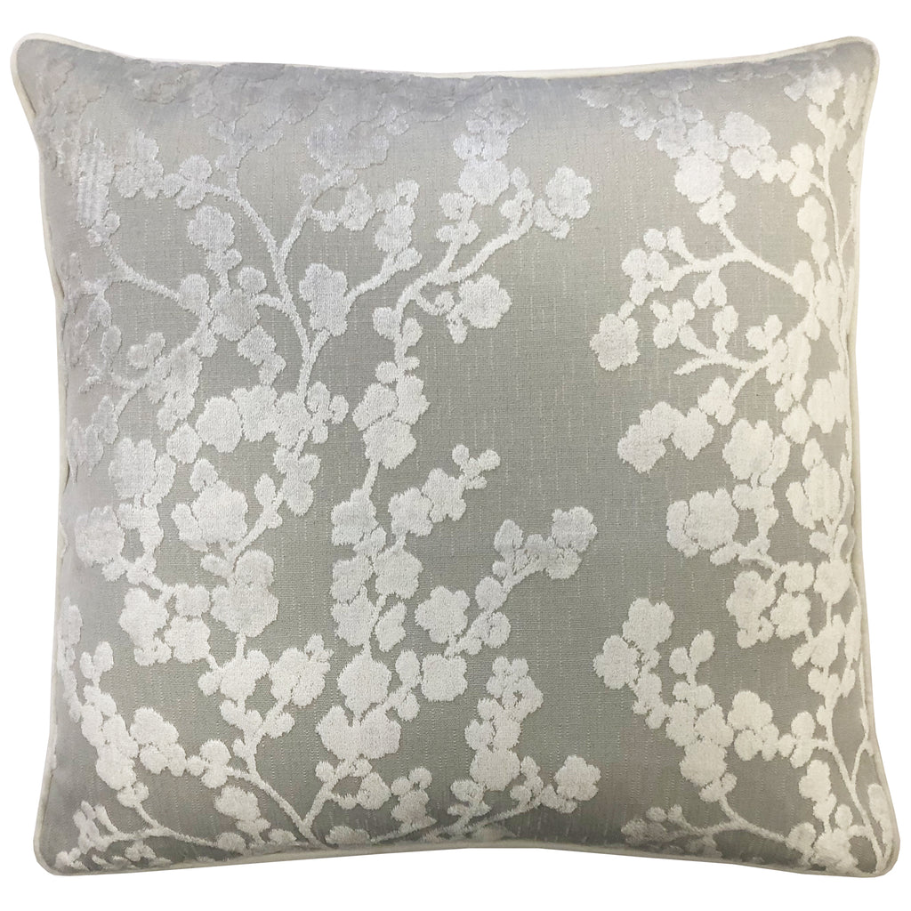 Daphne Pillows | Size 23X23 | Color Grey
