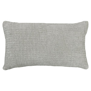 Denver Pillows | Size 16X28 | Color Silver