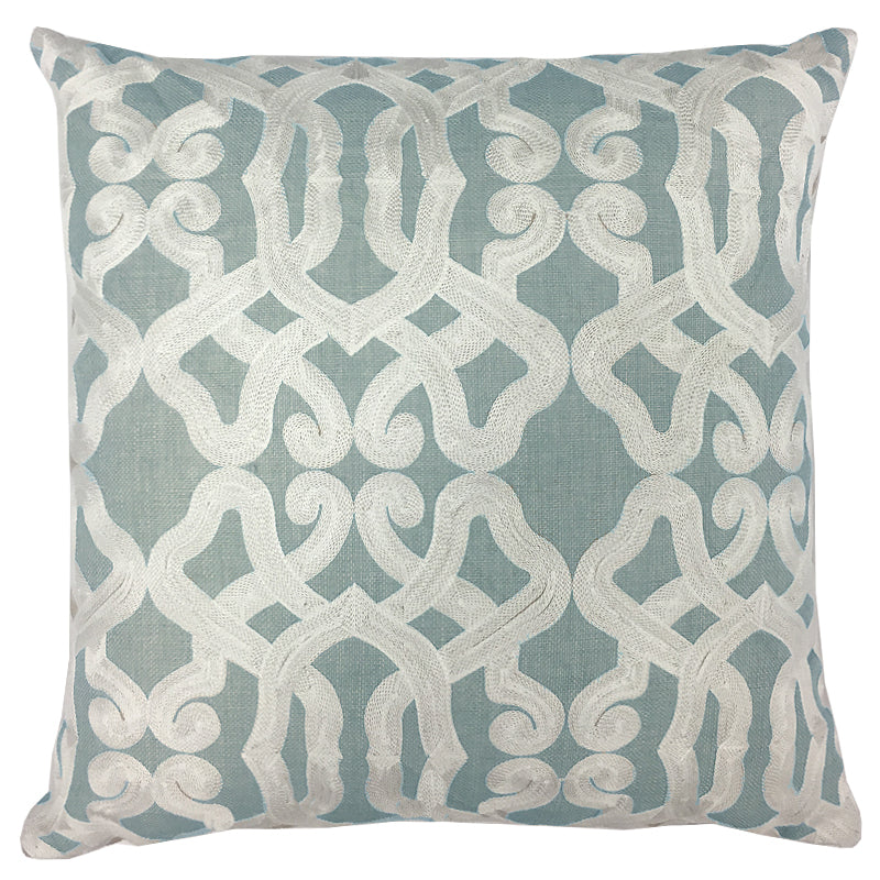 Dexter Pillow | Size 20X20 | Color Seaspray