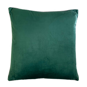 Elena Pillow | Size 20X20 | Color Emerald