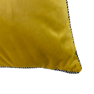 Elena Pillow | Size 20X20 | Color Mustard