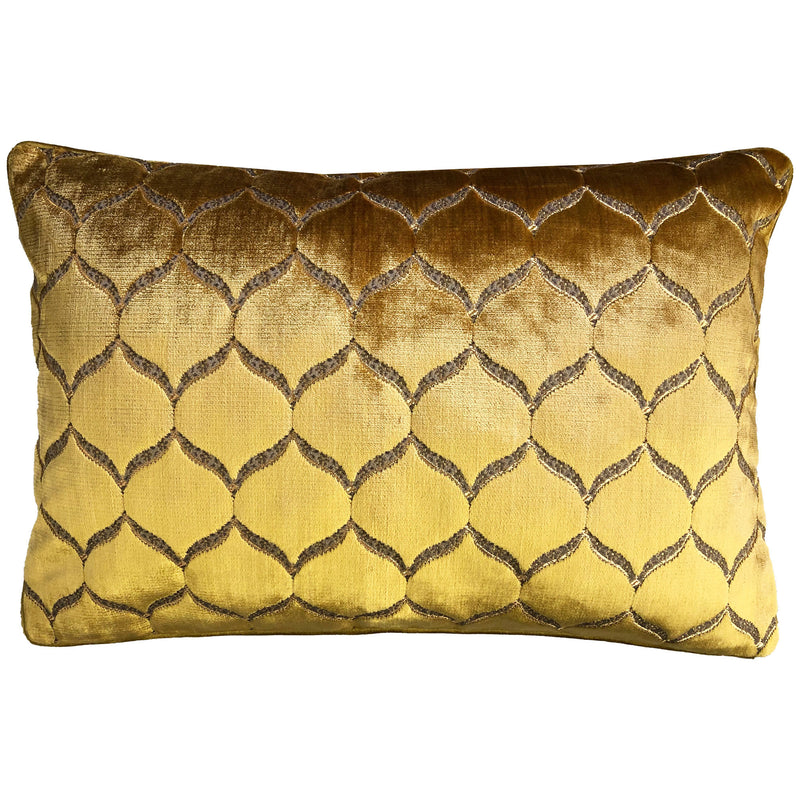 Eliza Pillows | Size 18X26 | Color Gold