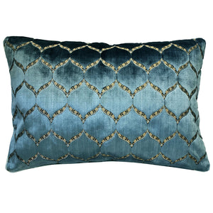 Eliza Pillows | Size 18X26 | Color Royal