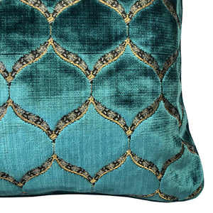 Eliza Pillows | Size 18X26 | Color Turquoise