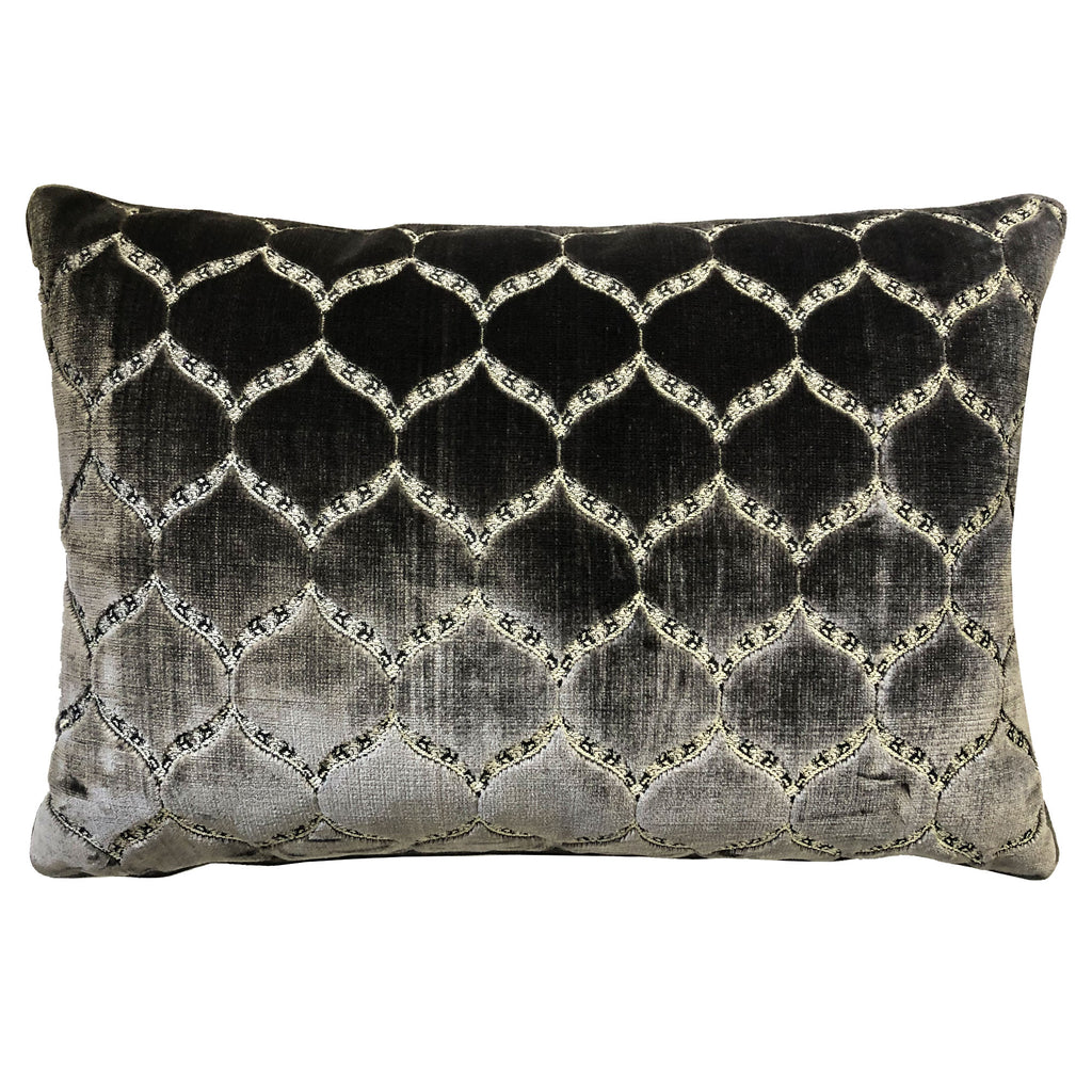 Eliza Pillows | Size 18X26 | Color Charcoal