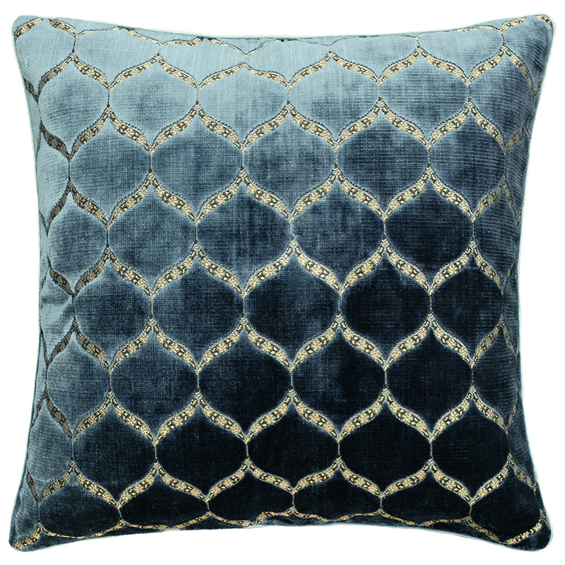 Eliza Pillows | Size 23X23 | Color Royal