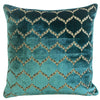 Eliza Pillows | Size 23X23 | Color Cerulean