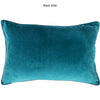 Fabiana Pillow | Size 18X26 | Color Turquoise